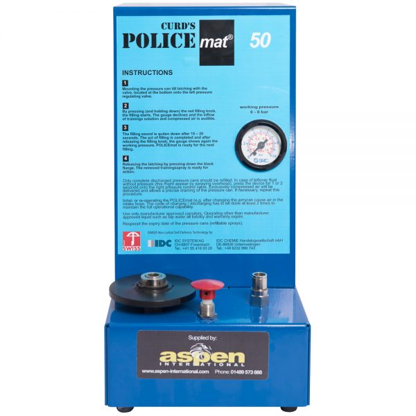 Curd's Police Mat 50 Refillable Training System